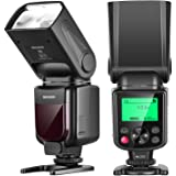 NEEWER NW-670 TTL Flash Speedlite with LCD Display for Canon 7D Mark II, 5D Mark II III, IV,1300D, 1200D, 1100D, 750D, 700D,