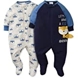 Gerber Baby Boys' 2-Pack Sleep 'N Play