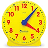Learning Resources Big Time Student Clock, 12 Hour