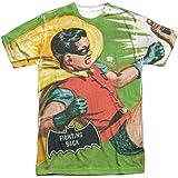 Trevco Men's Batman Classic TV Double Sided Print Sublimated T-Shirt