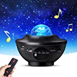 Star Projector, Galaxy Projector with Remote Control, Eicaus 3 in 1 Night Light Projector with LED Nebula Cloud/Moving Ocean