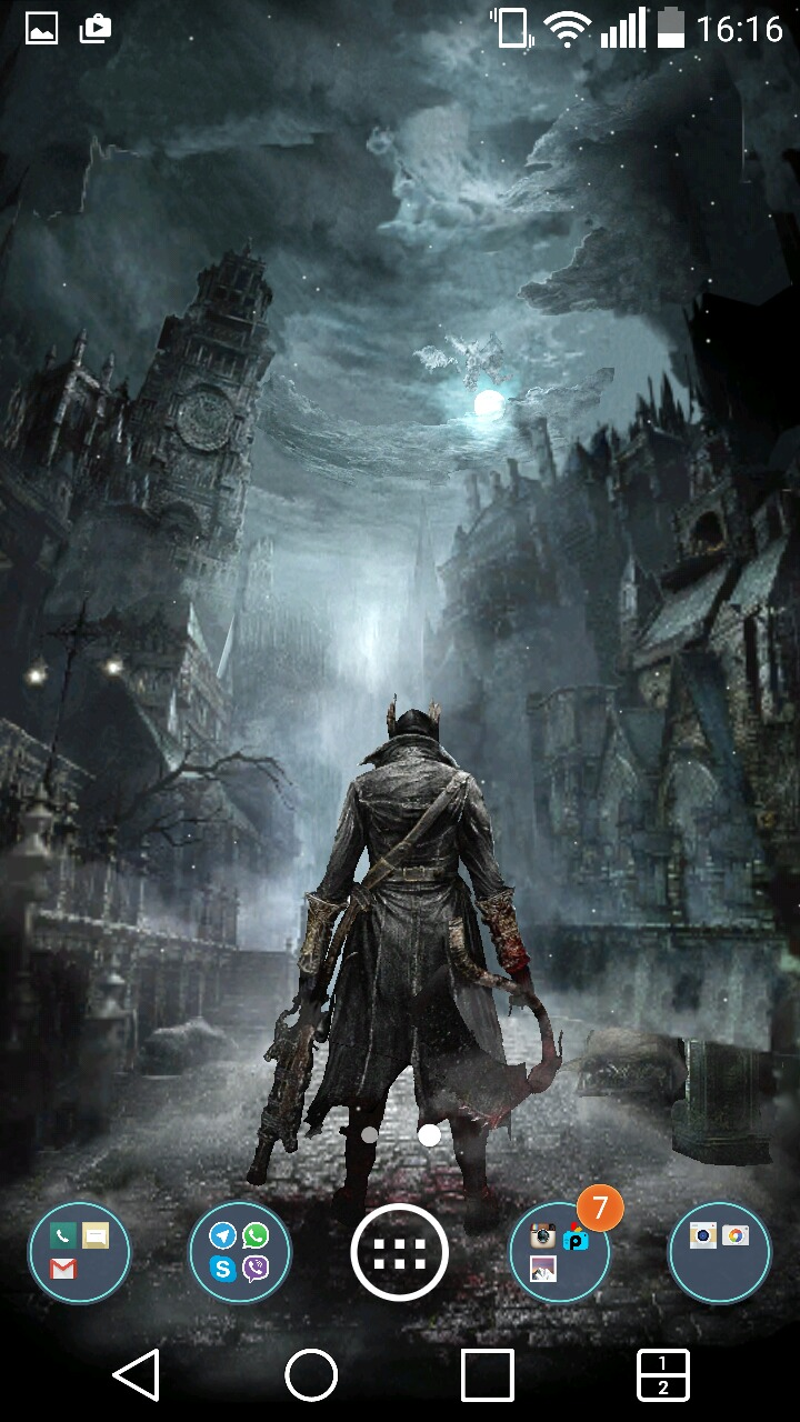 Amazoncojp Fan Made Bloodborne Live Wallpaper Android