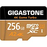 Gigastone 256GB Micro SD Card, 4K Game Turbo, MicroSDXC Memory Card for Nintendo-Switch Compatible, R/W up to 100/60MB/s, UHS