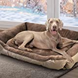 PaWz Pet Bed Mattress Dog Cat Pad Mat Cushion Soft Winter Warm X Large Cream XL in Cream