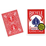 MMS Bicycle Playing Cards (Gold Standard) - RED BACK by Rich…