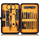 Professional Manicure Pedicure Kit Nail Clippers Set Tools,Fomatrade 15pcs Stainless Steel Nail Clipper Nail Scissors Groomin
