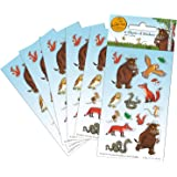 Paper Projects 01.70.15.041 Gruffalo Party Pack Stickers (Six Sheets), Multi-Colour