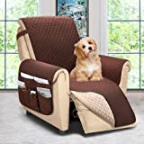 ASHLEYRIVER Reversible Recliner Chair Cover, Sofa Covers for Dogs,Sofa Slipcover,Couch Covers for 3 Cushion Couch,Couch Prote