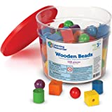 Learning Resources LER0140 Beads in a Bucket,Multi-color