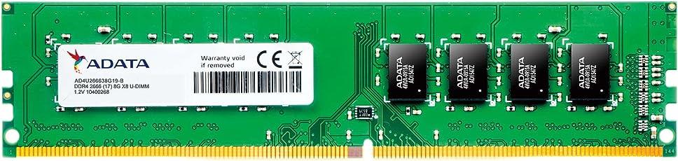 ADATA DDR4-2666MHz CL19 288Pin Unbuffered DIMM デスクトップPC用 メモリ 8GB×2枚 AD4U266638G19-2