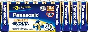 パナソニック エボルタ 単3形アルカリ乾電池 20本パック LR6EJ/20SW