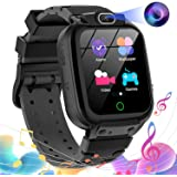 Kids Smart Watch for Boys Girls - HD Touch Screen Game Smartwatch with MP3 Music Player Calculator Alarm Clock Camera 7 Games