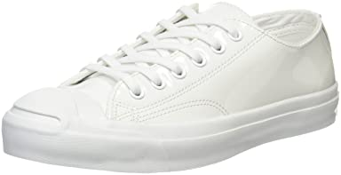 Jack Purcell Enamel Leather: White