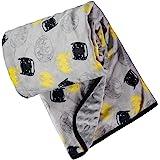 DC Comics Unisex Children's Soft Baby Batman Plush BlanketMulti 0-12 Months