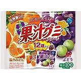 明治 果汁グミアソート袋 163g