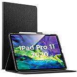 ESR iPad Pro 11 ケース 2020 手帳型 [Apple Pencil 2 ワイヤレス充電対応] オートスリープ/ウェイク ブックカバーデザイン 角度調節可能なスタンド アーバンプレミアムフォリオケース iPad 11インチ(2020)専用(ブラック)