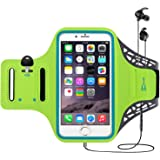 TERSELY Sports Armband for iPhone 12 11 Pro/Max/8 Plus/XR/Xs, Fingerprint Gym Running Fitness Workout/Exercise Water Resistan