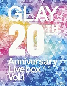 GLAY 20th Anniversary LIVE BOX VOL.1(Blu-ray Disc)