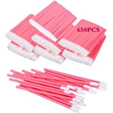 650PCS Disposable Lip Brushes Lip Gloss Applicators Make Up Brush Lipstick Lip Gloss Wands Makeup Applicators Brushes Applica