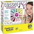 Creativity For Kids (FCAE9) 1852000 Creativity for Kids Tassel Bracelets Fashion Craft Building Kit for Kids