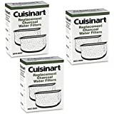 Cuisinart Triple Pack Charcoal Water Filters DCC-RWF Retail Box