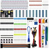 Electronics Component Fun Kit w/ Power Supply Module Jumper Wire 830 tie-points Breadboard Precision Potentiometer Resistor f