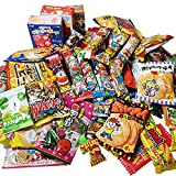 [駄菓子ボックス]懐かしいから新しい!駄菓子 約70点詰合せセット [種類の数は前後します]袋も付いています。