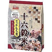 十六穀米 リッチもち麦たっぷりブレンド 180g(30g×6袋)