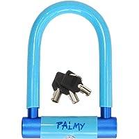 PALMY(パルミー) アルミシャックルロック(ライトブルー/ブルー) YD-4417