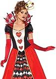 LEG AVENUE(レッグアベニュー) Deluxe Queen of Hearts ロングドレス クラウンセット S…
