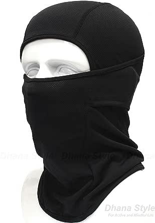 BXB Type 3Way タクティカル フェイスマスク ・アーミー バラクラバ ・SWAT 目だし帽 ミリタリー カモフラージュ ・ ネックウォーマー イヤーキャップ ・ 万能 ヘッドウェア ★ 通気性・保温性・速乾性 良好 ~サラっとした着け心地~ 軍用・サバイバルゲーム・自転車・バイク・アウトドア ブラック