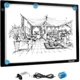 A3 LED Light Pad for Diamond Painting,Ultra-Thin USB Powered Dimmable Brightness Magnetic Artcraft Tracing Light Board Apply