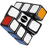 FAVNIC 魔方 マジックキューブ 一列 1x3x3 一段 立体パズル 脳トレ ポップ防止 おもちゃ ステッカーレス
