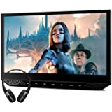XTRONS 13.3 Inch Car Headrest Mount Monitor with HDMI Input, 1080P Wide Screen with IPS Display Portable Video Player for Car