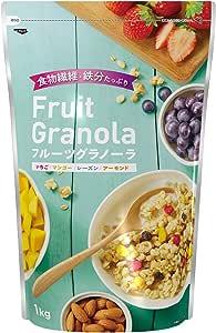 【Amazon.co.jp限定】日清シスコ フルーツグラノーラ 1kg