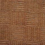 平織り カーペット ファミリア 261×352cm ブラウン フリーカット