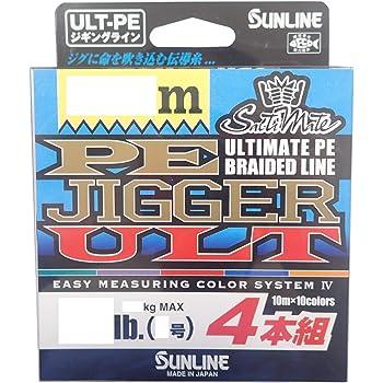 サンライン(SUNLINE) PEライン ソルティメイト ジガー ULT 4本組 300m 3号 50lb