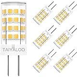 G4 LED Bulbs 5W Equivalent to 40W T3 JC Type G4 Halogen Bulb Bi-Pin G4 Base AC/DC 12V Warm White 3000K G4 LED Light Bulb Not-