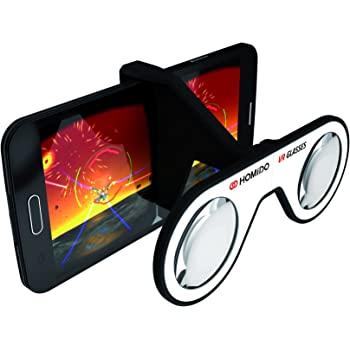【日本正規代理店販売】HOMiDO Mini Google Cardboard 認定 Plano-Convex 専用レンズ VRビューワ ゴーグル 超軽量 41g 純正品