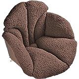 ARTBECK Chair Cushions Desk Seat Cushion Sherpa Wool Plush Thickening Chair Cushion Relax Waist Backrest Seat Cushion Pad Win