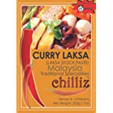Chilliz Laksa Stock Curry Paste 200 g, 200 g, Laksa Stock Curry