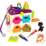 B. toys by Battat B. Pet Vet Toy Doctor Kit for Kids Pretend Play, 8 pieces
