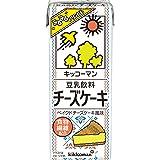 キッコーマン 豆乳飲料チーズケーキ 200ml ×18本