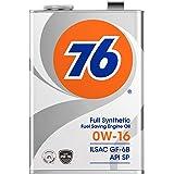 76 (ナナロク) エンジンオイル 0W-16 4L 4輪ガソリン車専用 全合成油 API SP/ILSAC GF-6 / 76 LUBRICANTS ナナロク ルブリカンツ SJL76004