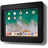 """TABcare Anti-Theft Acrylic VESA Enclosure for Apple iPad 7/8 10.2"""" with Free Wall Mount Kit & 90-Degree Angle Charge Cable (i"""