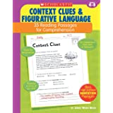35 Reading Passages for Comprehension: Context Clues & Figurative Language: 35 Reading Passages for Comprehension