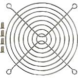 オウルテック 金属製ファンガード 12cm シルバー FANGuard-M12/II