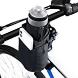WOTOW Bike Handlebar Bottle Bag, Bicycle Insulated Stem Drink Cup Holder Water Bottle Bag Cycling Frame Strap-On Waterproof S