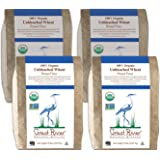 Great River Organic Milling, Bread Flour, Unbleached Wheat, Organic, 5-Pounds (Pack of 4)