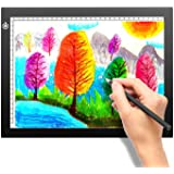 A4 Portable LED Light Box Tracer, LITENERGY Light Pad USB Power LED Artcraft Tracing Light Table for Artists,Drawing, Sketchi